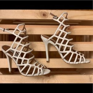 Steve Madden Women White Heels